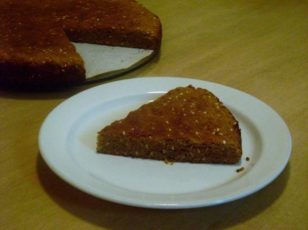 Sesame Seed Cake, w/ white sesame seed