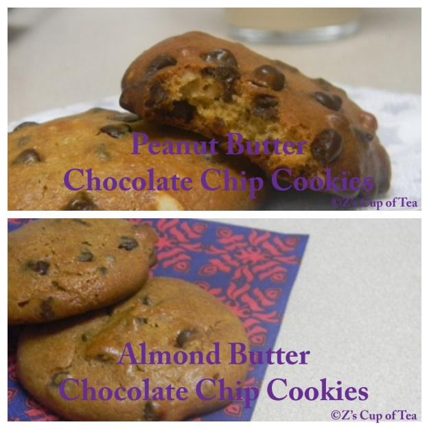 ... Butter or Almond Butter Chocolate Chip Cookies (GFCF) | Z's Cup of Tea