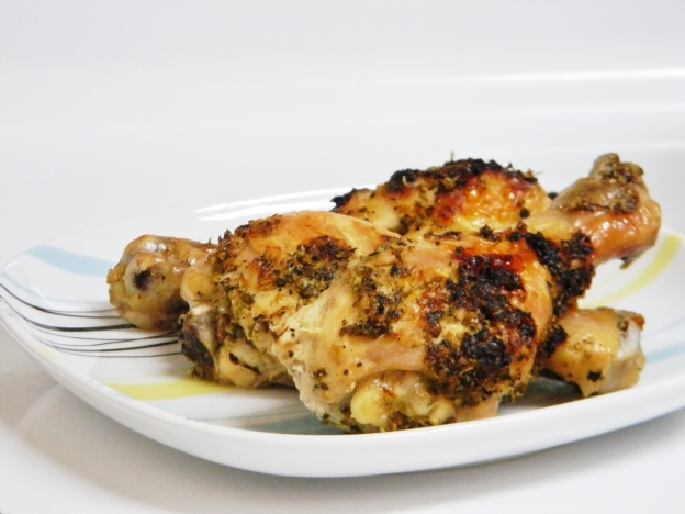 Herbed Meyer Lemon Chicken