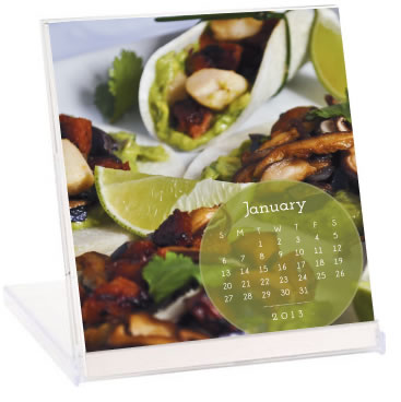 2013 Cookbook Desk  Calendar