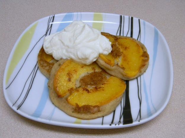 peach pancakes 003