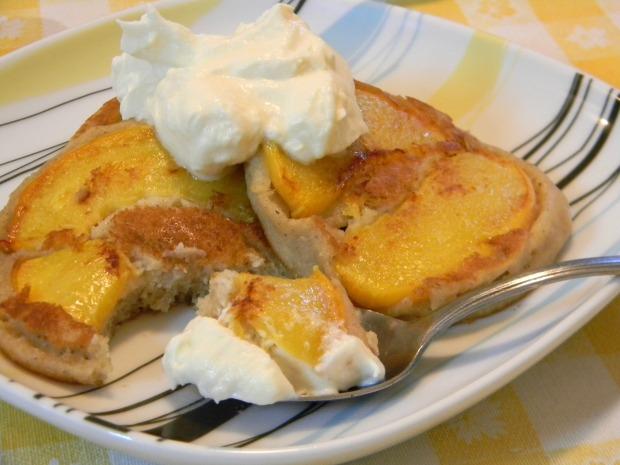 peach pancakes 009