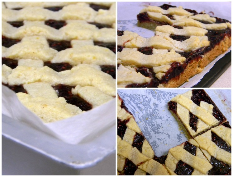 Linzer bars_collage